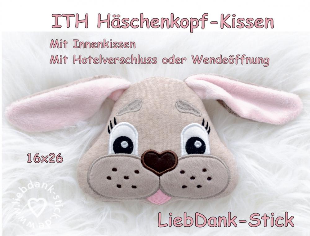 ITH Häschen-Kissen - Set 16x26 Rahmen
