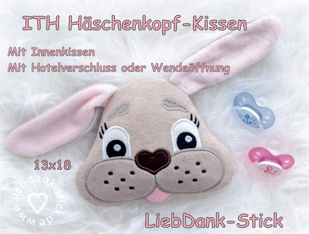 ITH Häschen-Kissen - Set 13x18 Rahmen