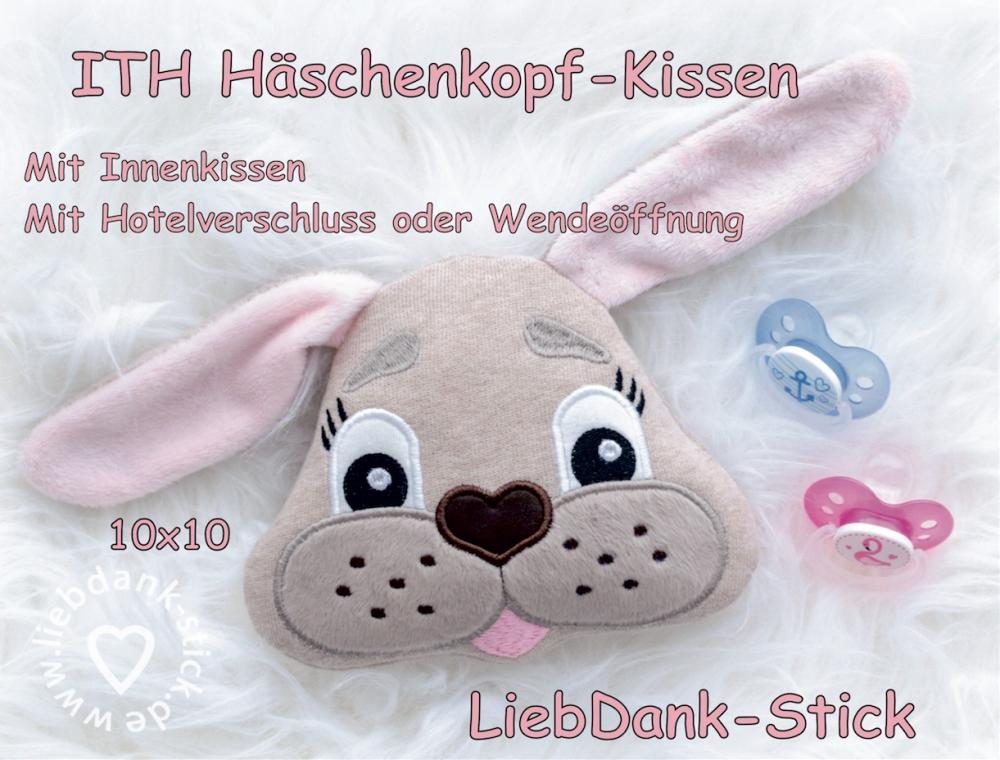 ITH Häschen-Kissen - Set 10x10 Rahmen