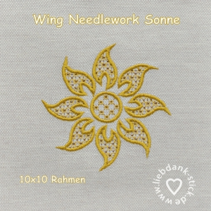 Wing-Needlework-Sonne-10x10