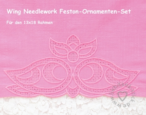 Feston-Ornamenten-Set-Wing-Needlework-13x18-Rahmen