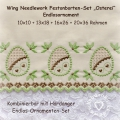 Festonborte mit Wing Needlework Osterei-Ornamenten-Set, Endlosornament, Endlosborte