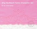 Feston-Ornamenten-Set, Wing Needlework 13x18 Rahmen