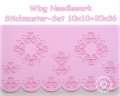 Stickdatei (Set) Wing Needlework Sommer Ornamnet 10x10 + 20x36 Rahmen