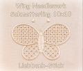 Stickdatei Wing Needlework Schmetterling 10x10