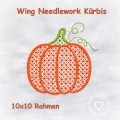 Kürbis Wing Needlework 10x10
