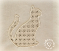Stickdatei Katze Wing Needlework 10x10
