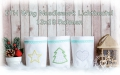 ITH Set Wing Needlework Lichtbeutel 13x18